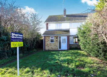 Thumbnail 3 bedroom semi-detached house for sale in Brocklesby Gardens, Peterborough