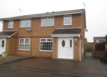 Thumbnail 3 bed semi-detached house for sale in Padworth Place, Leighton, Crewe