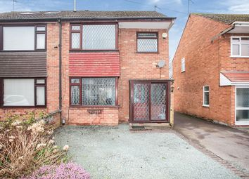 Thumbnail 3 bedroom semi-detached house for sale in Gibson Crescent, Bedworth, Warwickshire