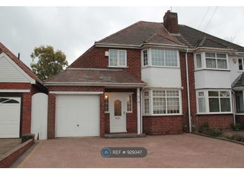 Thumbnail 3 bed semi-detached house to rent in Manor House Lane, Birmingham
