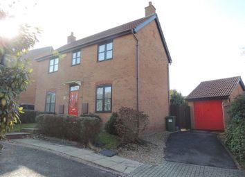 Thumbnail 3 bed detached house for sale in Upper Wood Close, Shenly Brook End, Milton Keynes