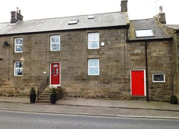Thumbnail 3 bed terraced house for sale in Rookwood Gardens, Rothbury Road, Longframlington, Morpeth