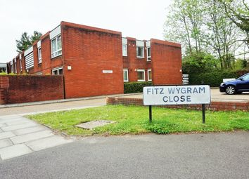Thumbnail 1 bed flat to rent in Fitzwygram Close, Hampton