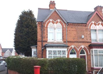 Thumbnail 3 bed end terrace house to rent in Edwards Road, Erdington, Birmingham