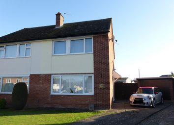 Thumbnail 3 bed semi-detached house for sale in Bilston Close, Hereford