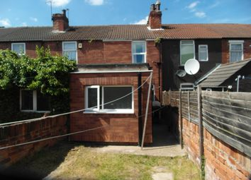 Thumbnail 1 bed terraced house to rent in Dockinhill Road, Doncaster
