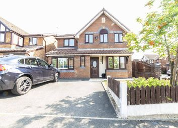 Thumbnail 4 bed detached house for sale in Hutchins Lane, Oldham