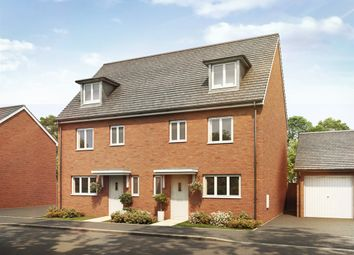 "Thumbnail 4 bed town house for sale in ""The Leicester"" at Goshawk Green, Leighton Buzzard"