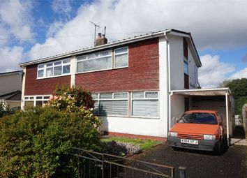 Thumbnail 3 bed semi-detached house for sale in Belmont Close, Abergavenny, Monmouthshire