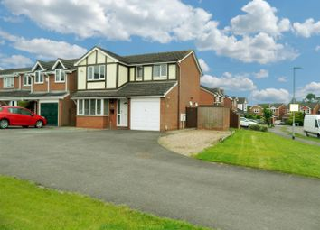 Thumbnail 4 bed detached house for sale in Stainmore Avenue, Narborough, Leicester