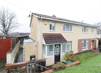 Thumbnail 3 bed semi-detached house for sale in Davy Close, Newport