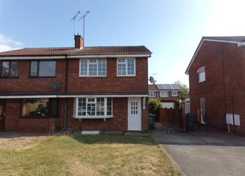 Thumbnail 3 bed semi-detached house for sale in The Rushes, Mansfield Woodhouse, Mansfield, Nottinghamshire