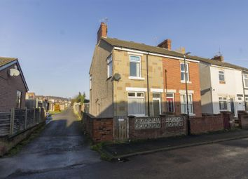 Thumbnail 2 bedroom semi-detached house for sale in Devonshire Road North, New Whittington, Chesterfield