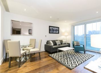 Thumbnail 1 bed flat for sale in Duckman Tower, 3 Lincoln Plaza, London