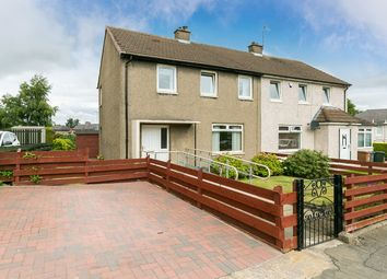 Thumbnail 3 bed semi-detached house for sale in Stenhouse Mill Crescent, Stenhouse, Edinburgh
