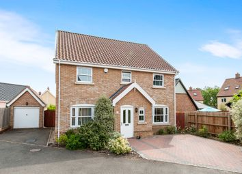 Thumbnail 4 bed detached house for sale in The Butts, Kenninghall, Norwich