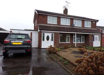 Thumbnail 3 bed semi-detached house for sale in Pembroke Avenue, Syston, Leicester, Leicestershire