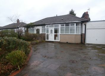 Thumbnail 3 bed detached bungalow for sale in Webb Lane, Hall Green, Birmingham