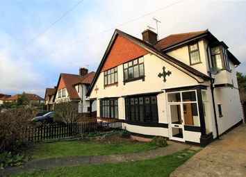 Thumbnail 3 bed semi-detached house to rent in Yeovil Chase, Westcliff On Sea, Essex