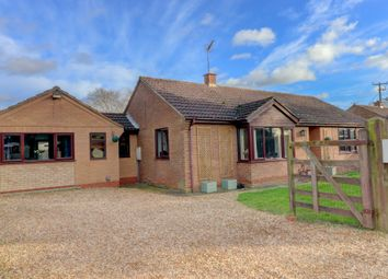 Thumbnail 4 bed detached bungalow for sale in Silvers Lane, Murrow, Parson Drove, Wisbech