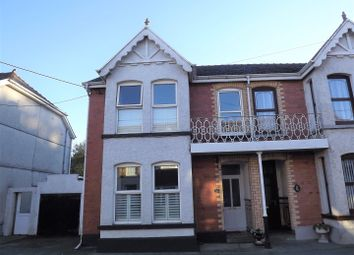 Thumbnail 4 bedroom semi-detached house for sale in Station Road, Tirydail, Ammanford