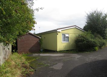 Thumbnail 3 bed mobile/park home for sale in The Firs, Bakers Hill, Exeter
