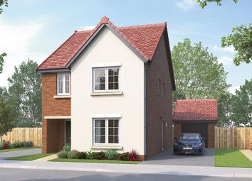 """Thumbnail 4 bed detached house for sale in """"The Glastonbury"""" at Skinner Street, Creswell, Worksop"""