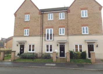 Thumbnail 3 bed terraced house for sale in Robins Crescent, Witham St. Hughs, Lincoln, Lincolnshire