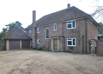 Thumbnail 4 bed detached house for sale in Badgers Close, Fleet