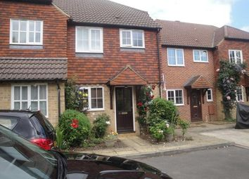 Thumbnail 2 bed terraced house to rent in Walnut Tree Gardens, Godalming