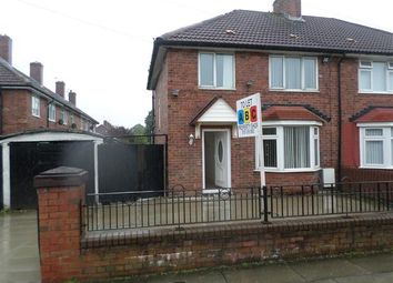 Thumbnail 3 bed semi-detached house to rent in Fairmead Road, Norris Green, Liverpool