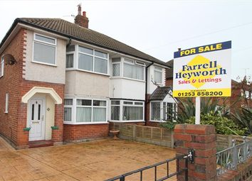 Thumbnail 3 bed property for sale in Briarwood Drive, Blackpool