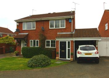 Thumbnail 2 bedroom semi-detached house for sale in Newcott Close, Pendeford, Wolverhampton