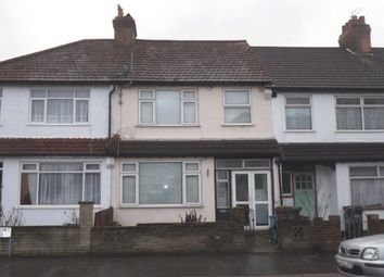 Thumbnail 3 bed terraced house to rent in Harcourt Road, Thornton Heath