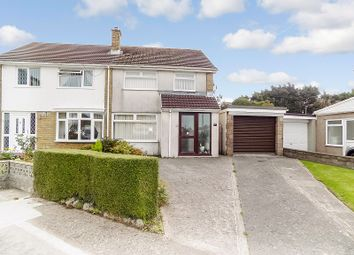 Thumbnail 3 bed semi-detached house for sale in Tyle Glas, North Cornelly, Bridgend.