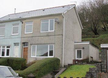 Thumbnail 3 bedroom semi-detached house for sale in Graig Road, Godrergraig, Swansea.