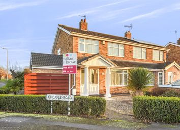 Thumbnail 3 bed semi-detached house for sale in Kincaple Road, Leicester