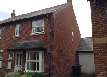 Thumbnail 3 bed semi-detached house to rent in Foxglove Close, Bicester