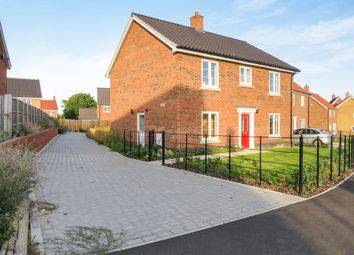 Thumbnail 4 bed detached house for sale in Shotesham Road, Poringland, Norwich