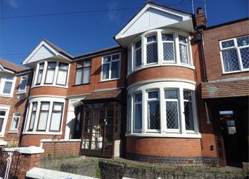 Thumbnail 3 bed terraced house to rent in Lichfield Road, Coventry, West Midlands