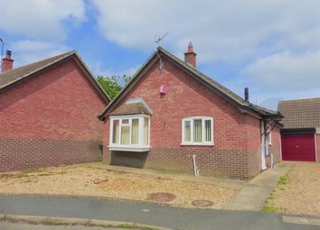 Thumbnail 2 bedroom detached bungalow for sale in Rectory Gardens, Hingham, Norwich