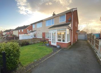 Thumbnail 3 bed semi-detached house for sale in Smithy Lane, Much Hoole, Preston