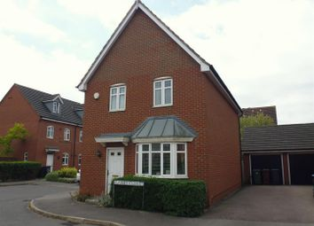 Thumbnail 3 bed detached house for sale in Flaxley Close, Lincoln