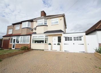 Thumbnail 3 bed semi-detached house for sale in Forest Way, Sidcup, Kent