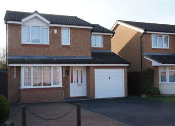 Thumbnail 4 bed detached house for sale in Graces Close, Cranfield, Bedford