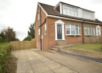 Thumbnail 3 bed semi-detached house for sale in New Crescent, Horsforth, Leeds