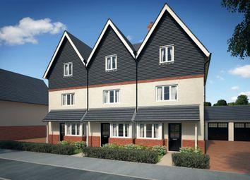 Thumbnail 3 bed end terrace house for sale in Tadpole Garden Village, Blunsdon, Swindon