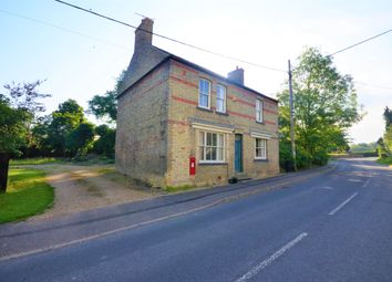 Thumbnail 4 bed detached house for sale in Lutton, Peterborough