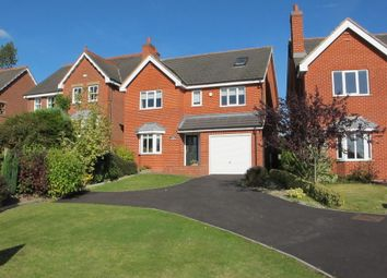 Thumbnail 4 bed detached house for sale in Burton Road, Annswell, Ashby-De-La-Zouch