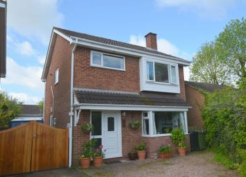 Thumbnail 3 bed detached house for sale in Pinedale, Woolaston, Lydney